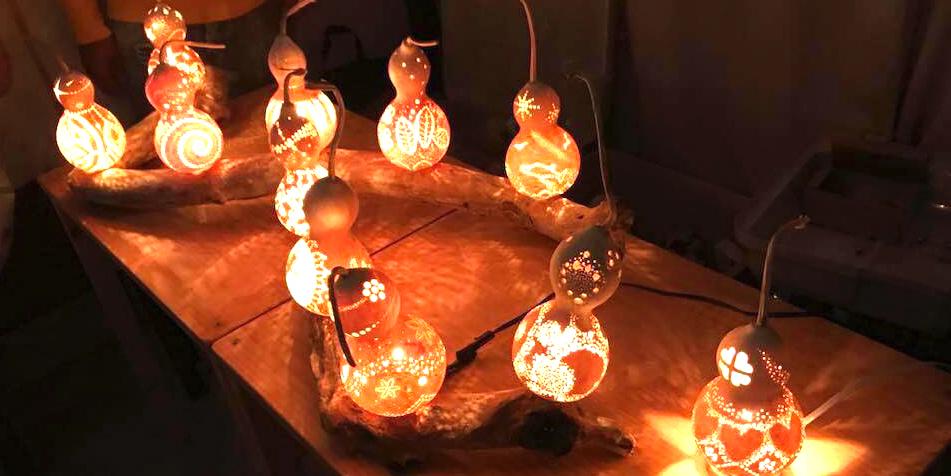 ひょうたんを使ったアートクラフト「ひょうたんランプ」で新しい趣味の発見が出来るかも!?
