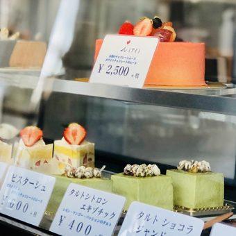 溝の口で評判の洋菓子店・パティスリーアイさんの甘酸っぱいフランボワーズのケーキ「i」を求めて。