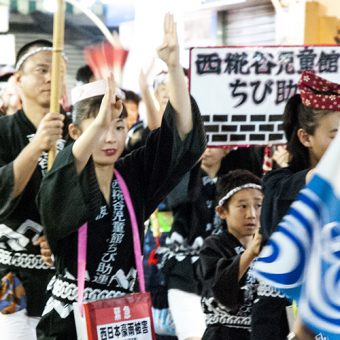 糀谷商店街の熱い夜。本場に引きをとらない阿波踊りのお祭りが開催!