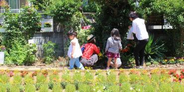 大家さんのお庭でお祭りが!?シラハト商店が花ノ停留祭に参加し、ご自慢の珈琲を振る舞いましたとさっ。